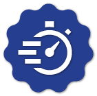 Find a service provider Save Time Badge
